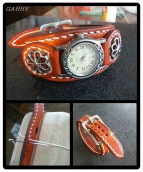 時計用革ベルト修理