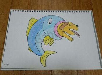 2015-07-02-1 魚が食べる.jpg